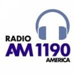 Logo da emissora Radio América 1190 AM