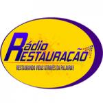 Logo da emissora Rádio Restauração