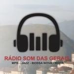 Logo da emissora Rádio Som das Gerais