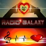 Logo da emissora Web Radio Galaxy