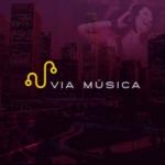 Logo da emissora Rádio Via Música