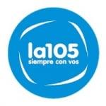 Logo da emissora Radio La 105.1 FM