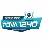 Logo da emissora Rádio Nova 1240 AM