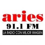 Logo da emissora Radio Aries 91.1 FM