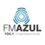 Logo da emissora Radio Azul 104.1 FM