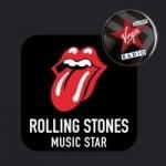 Logo da emissora Virgin Music Star Rolling Stones