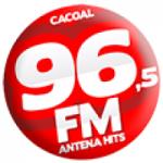 Logo da emissora Rádio Antena Hits 96.5 FM