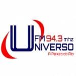 Logo da emissora Rádio Universo 94.3 FM