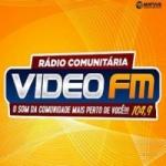 Logo da emissora Rádio Vidéo 104.9 FM