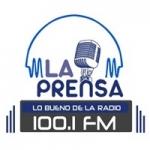 Logo da emissora Radio La Prensa 100.1 FM