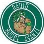 Logo da emissora Rádio Bugre Avante