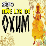 Logo da emissora Rádio Mãe Lya de Oxum