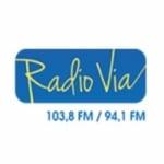 Logo da emissora Via 103.8 FM