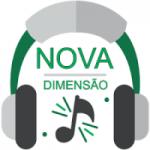 Logo da emissora Rádio Nova Dimensão