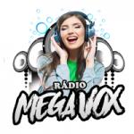 Logo da emissora Rádio Mega Vox