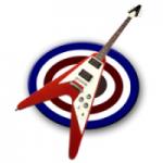 Logo da emissora Rádio V Rock