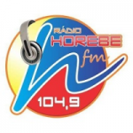 Logo da emissora Rádio Horebe 104.9 FM