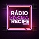 Logo da emissora Rádio Máxima Recife