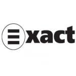 Logo da emissora Exact 101.4 FM