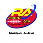 Logo da emissora Rádio Arcca 104.9 FM