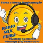 Logo da emissora Rádio Mix Feira