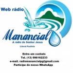 Logo da emissora Web Rádio Manancial Litoral