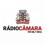 Logo da emissora Rádio Câmara 88.7 FM