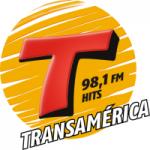 Logo da emissora Rádio Transamérica Hits 98.1 FM