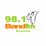 Logo da emissora Rádio Band 98.1 FM