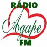 Logo da emissora Ágape FM