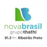Logo da emissora Rádio Nova Brasil 91.3 FM