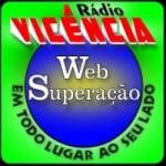 Logo da emissora Rádio Vicência Web Superação