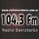 Logo da emissora Radio Berrotarán 104.3 FM