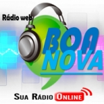 Logo da emissora Rádio Web Boa Nova