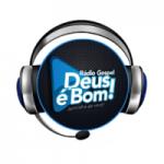 Logo da emissora Rádio Gospel Deus é Bom