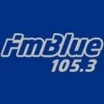 Logo da emissora Radio Blue 105.3 FM