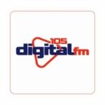 Logo da emissora Rádio Digital Paraíso 105.5 FM