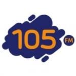 Logo da emissora Rádio 105.5 FM