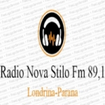 Logo da emissora Novo Stilo FM