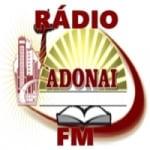 Logo da emissora Adonai FM
