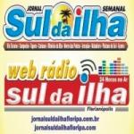 Logo da emissora Jornal e Rádio Sul da Ilha Floripa