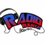 Logo da emissora Rádio Mania alagoas