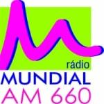 Logo da emissora Rádio Mundial 660 AM