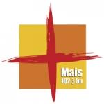 Logo da emissora Rádio Mais 102.3 FM