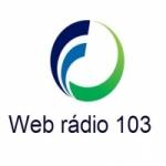 Logo da emissora Rádio Web 103
