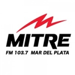Logo da emissora Radio Mitre 103.7 FM