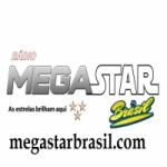 Logo da emissora Mega Star Brasil