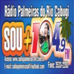 Logo da emissora Rádio Palmeiras do Rio Cabugi 104.9 FM