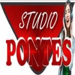Logo da emissora Rádio Pontes
