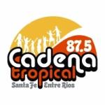 Logo da emissora Radio Cadena Tropical 87.5 FM